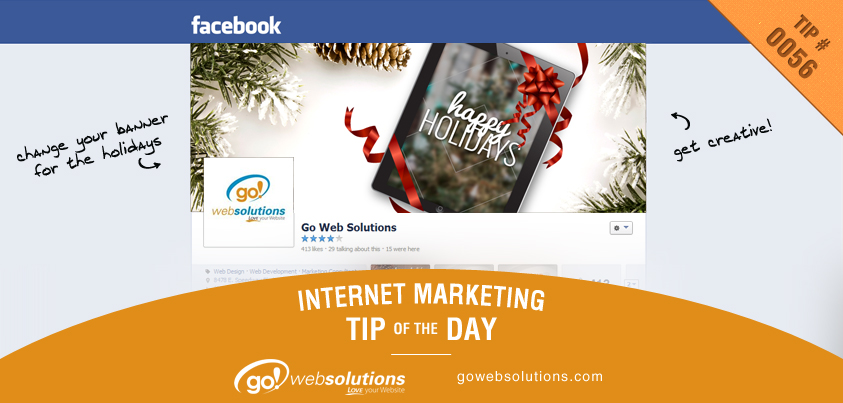 Decorate Your Social Media Sites For The Holidays